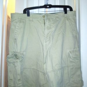 Faded Glory Men's Khaki Cargo Shorts